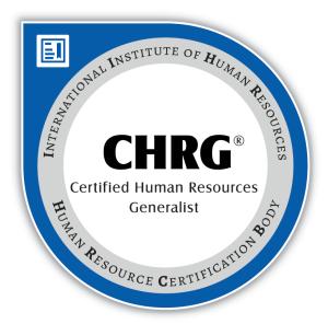 CHRG-Certification